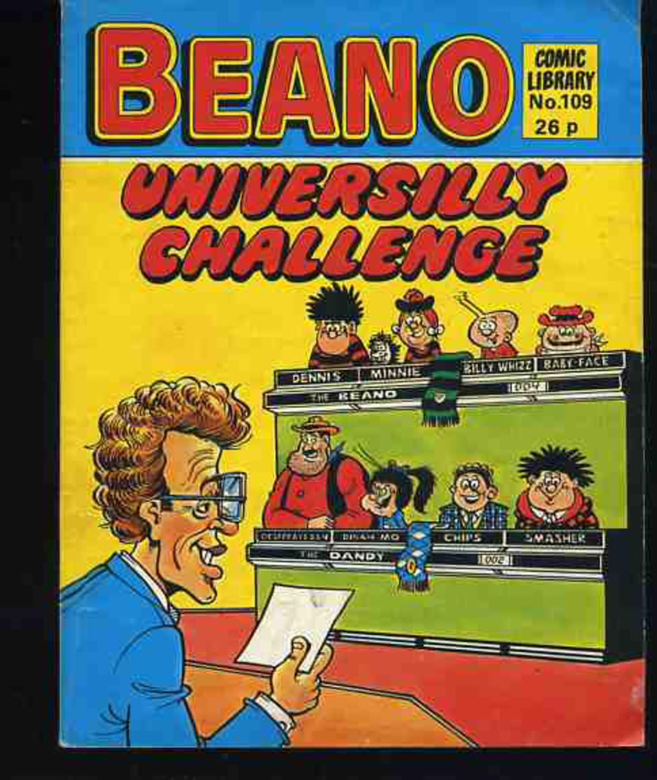 Image for Beano Comic Library No 109 Universally Challenge