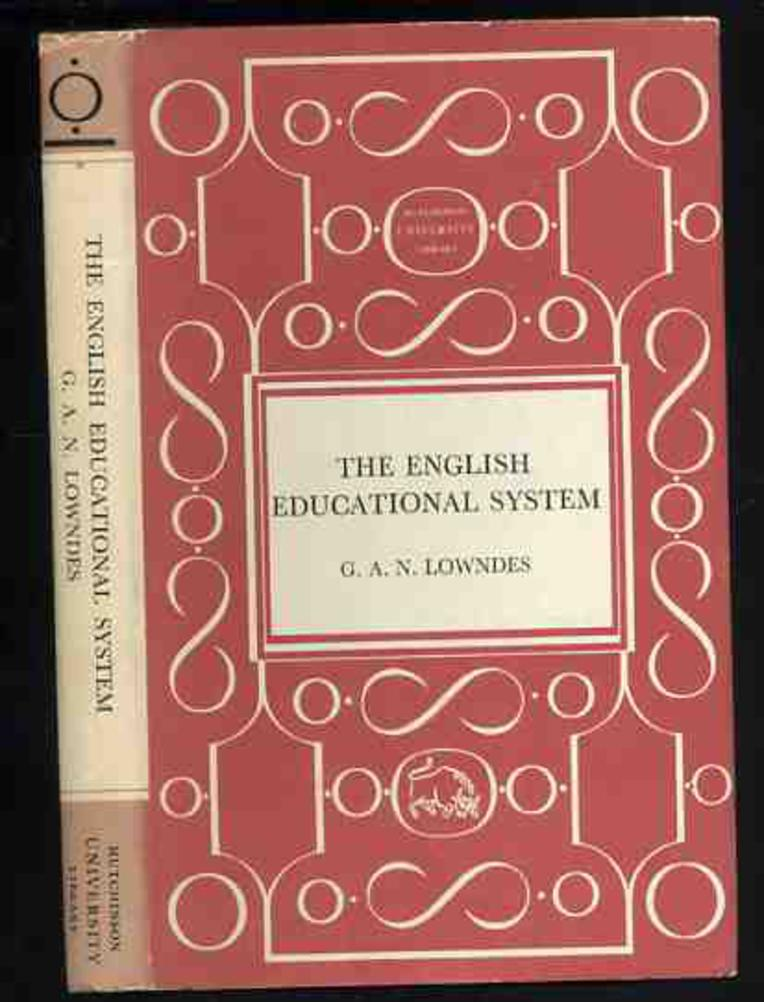 Image for The English Educational System
