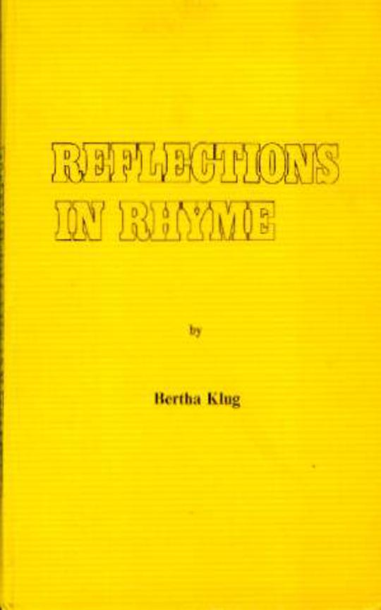 Image for Reflections in Rhyme (SIGNED COPY)
