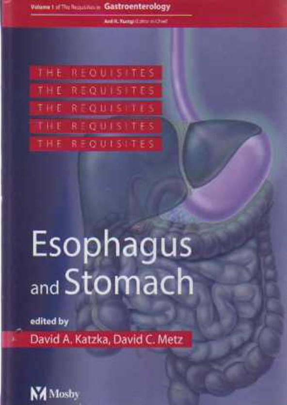 Image for Esophagus and Stomach : Volume 1