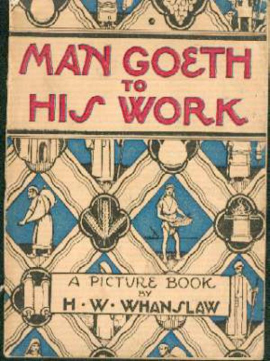 Image for Man Goeth to His Work