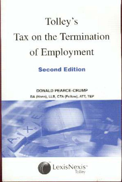 Image for Tolley's Tax on the Termination of Employments