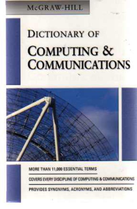 Image for McGraw-Hill Dictionary of Computing and Communications