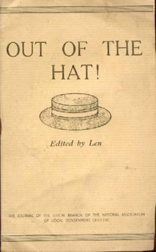 Image for Out of the Hat Vol 3 No. 3  Sept - Oct 1945