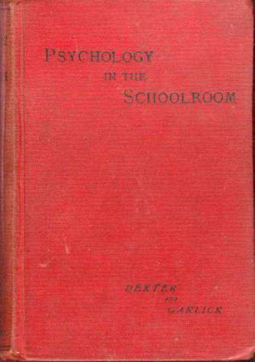 Image for Psychology In The Schoolroom