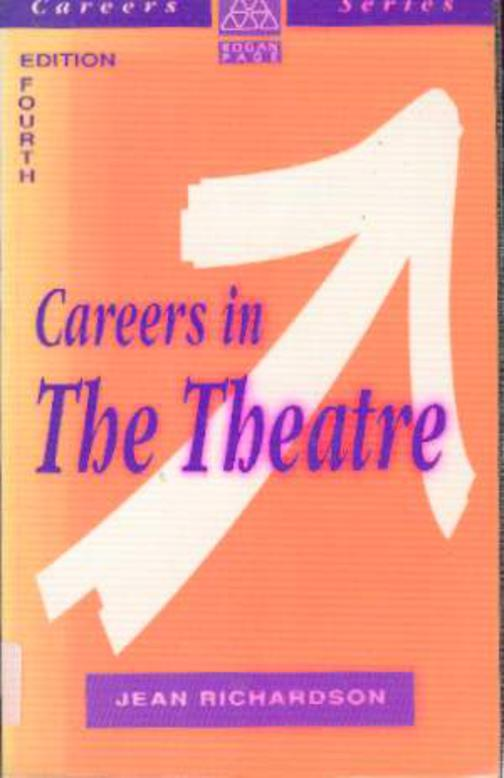 Image for Careers in the Theatre
