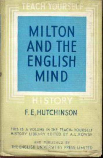 Image for Teach Yourself Milton and the English Mind