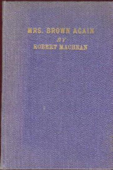 Image for Mrs. Brown Again (SIGNED COPY)