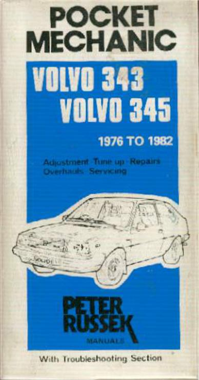 Image for Pocket Mechanic for Volvo 343 and 345 1976 to 1982