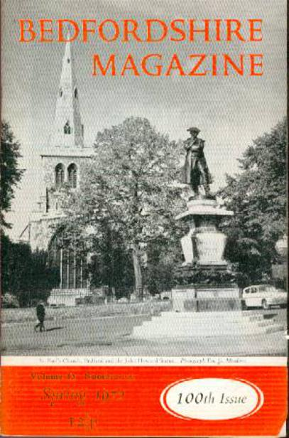 Image for Bedfordshire Magazine : Spring 1972 -  Volume 13 Number 100