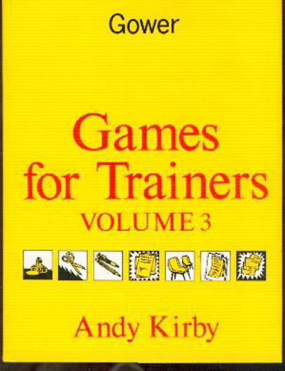 Image for Games for Trainers : Volume 3