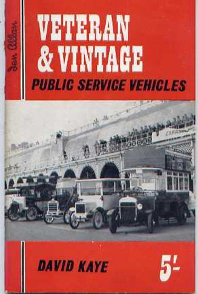 Image for Veteran and Vintage Public Service Vehicles