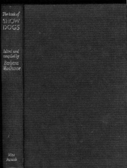 Image for The Book of Show Dogs