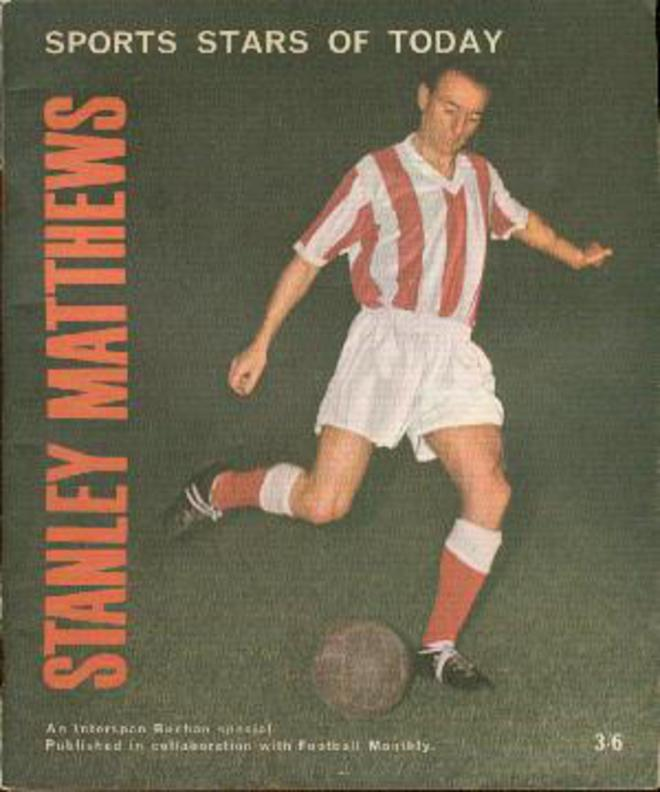 Image for Sports Stars of Today : Stanley Matthews
