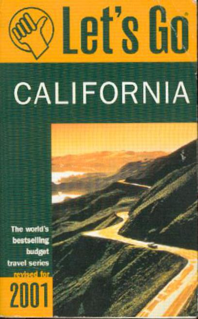 Image for Let's Go  California 2001