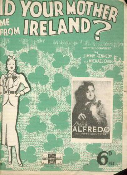 Image for Did Your Mother Come from Ireland?
