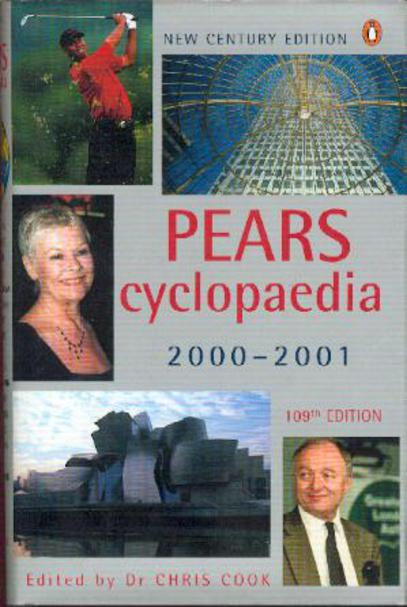 Image for Pears Cyclopaedia
