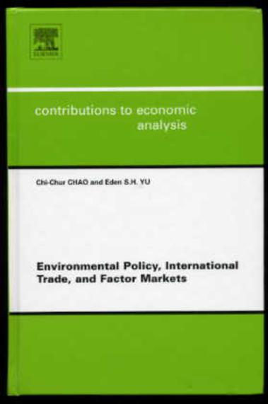 Image for Environmental Policy, International Trade and Factor Markets