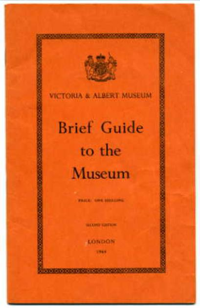 Image for Victoria & Albert Museum - A Brief Guide to the Museum