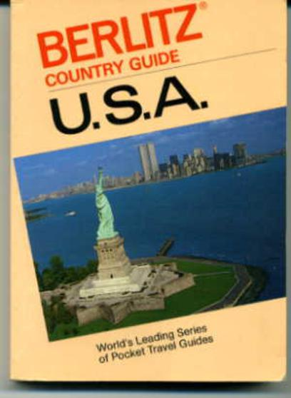 Image for USA  (Berlitz Country Guide)