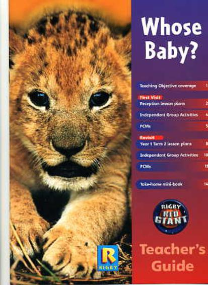 Image for Red Giant : Whose Baby?  (Teacher's Guide)
