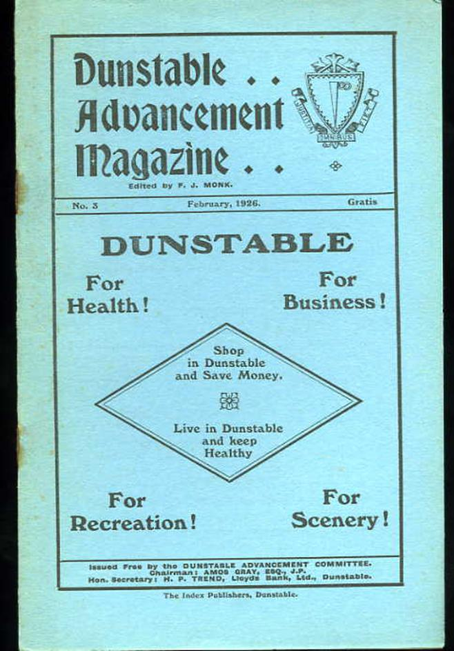 Image for Dunstable Advancement Magazine February 1926 No. 3