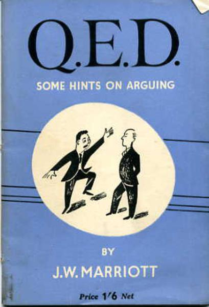 Image for Q.E.D. Some Hints on Arguing