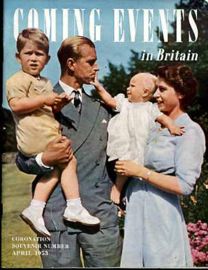 Image for Coming Events in Britain : Coronation Souvenir Number - April 1953
