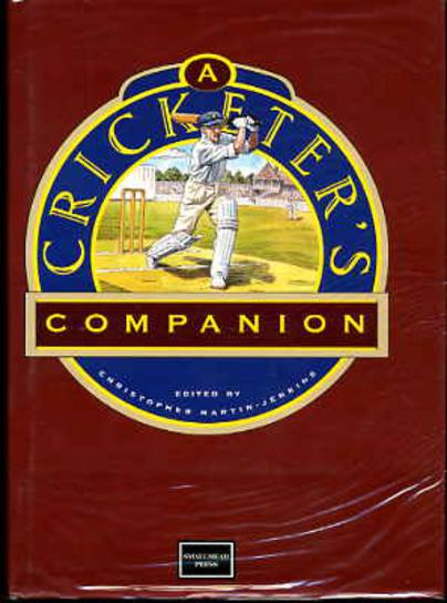 Image for A Cricketer's Companion