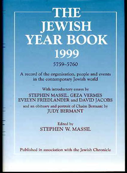 Image for The Jewish Year Book 1999 5759-5760