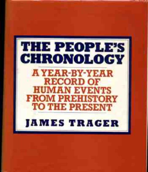 Image for The People's Chronology - a Year By Year Record of Human Events from Prehistory to the Present