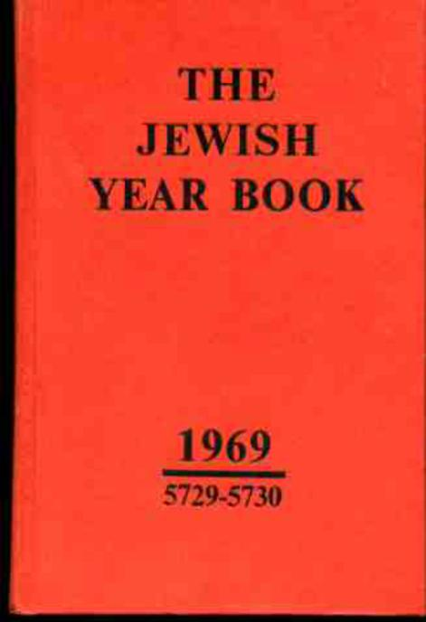 Image for The Jewish Year Book 1969 5729-5730
