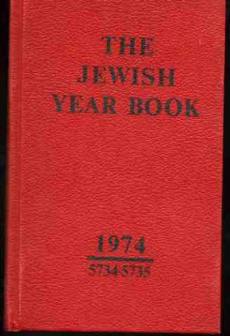 Image for The Jewish Year Book 1974 5734-5735