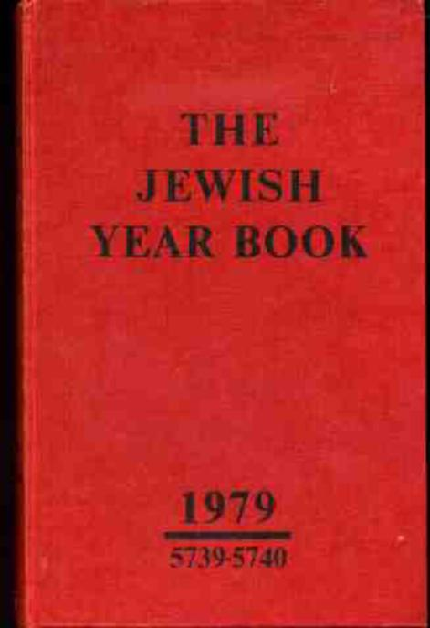 Image for The Jewish Year Book 1979 5739-5740