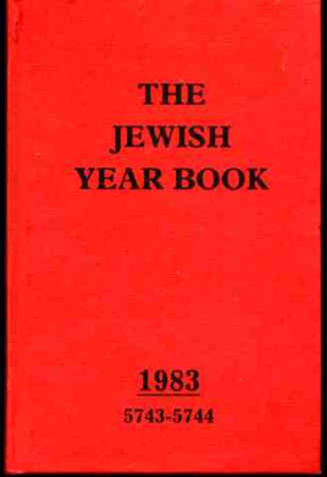 Image for The Jewish Year Book 1983 5743-5744
