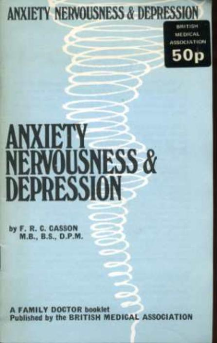 Image for Anxiety, Nervousness & Depression