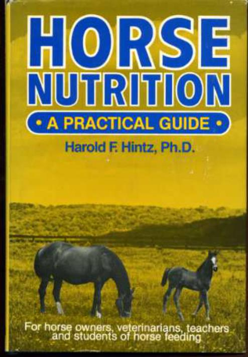 Image for Horse Nutrition: A Practical Guide