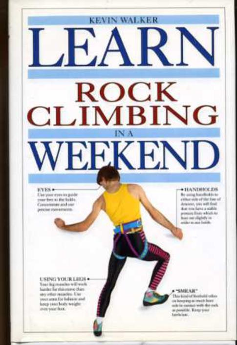 Image for Learn Rock Climbing in a Weekend