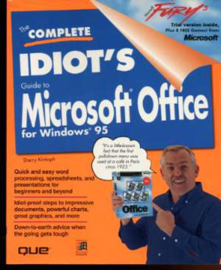 Image for The Complete Idiot's Guide to Microsoft Office 95/Book and Cd-Rom