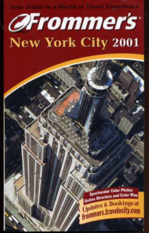 Image for Frommer's 2001 New York City
