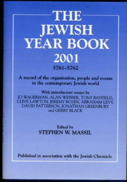 Image for The Jewish Year Book 2001 - 5761-5762 - A record of the organisation, people and events in the contemporary Jewish World