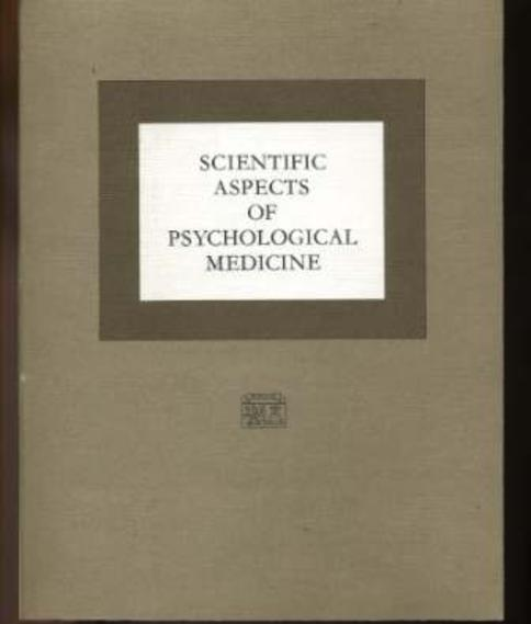 Image for Scientfic Aspects of Pshychological Medicine