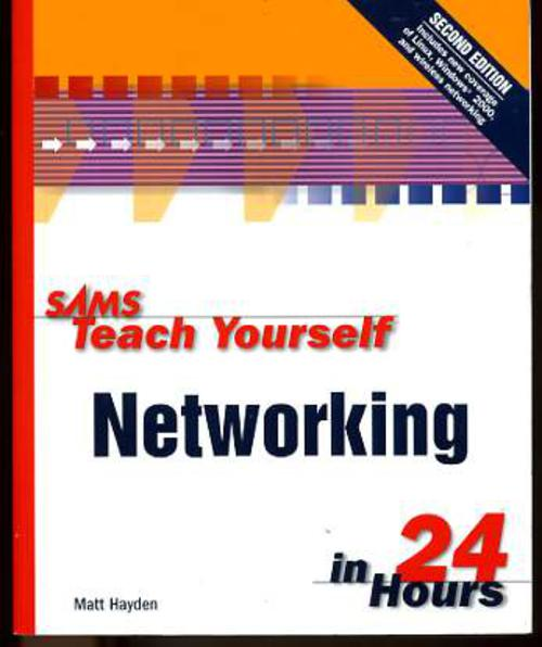 Image for Sams Teach Yourself Networking in 24 Hours