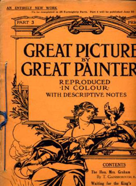 Image for Great Pictures By Great Painters Reproduced in Colour with Descriptive Notes - Part 3