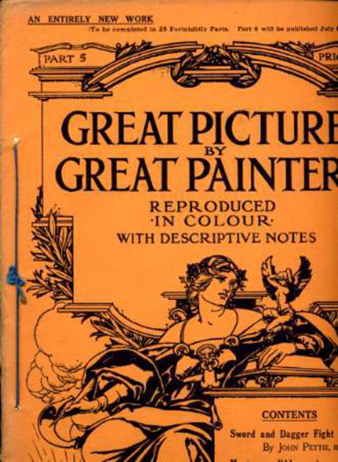 Image for Great Pictures By Great Painters Reproduced in Colour with Descriptive Notes - Part 5