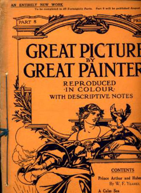 Image for Great Pictures By Great Painters Reproduced in Colour with Descriptive Notes - Part 8