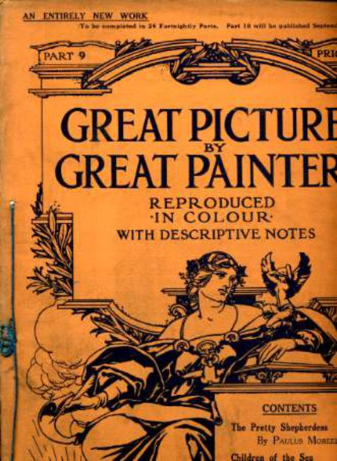 Image for Great Pictures By Great Painters Reproduced in Colour with Descriptive Notes - Part 9