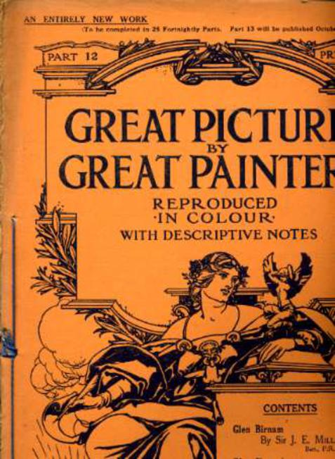 Image for Great Pictures By Great Painters Reproduced in Colour with Descriptive Notes - Part 12