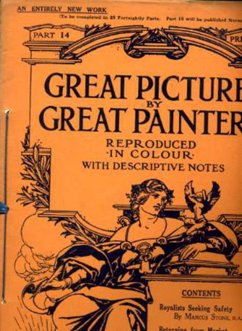 Image for Great Pictures By Great Painters Reproduced in Colour with Descriptive Notes - Part 14