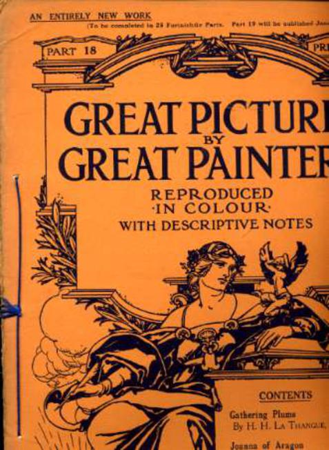 Image for Great Pictures By Great Painters Reproduced in Colour with Descriptive Notes - Part 18
